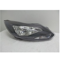 FORD FOCUS LW - SEDAN/HATCH 4/11>CURRENT - DRIVERS - RIGHT SIDE HEADLIGHT - NEW - BLACK