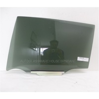 suitable for TOYOTA RAV 4 ASA/43/44 - 5DR WAGON 2/2013>CURRENT - PASSENGER - LEFT SIDE REAR DOOR GLASS - PRIVACY GREY