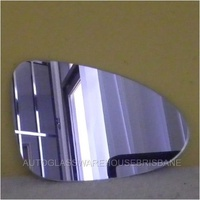 HOLDEN BARINA TM -  4DR SEDAN 11/12>CURRENT - DRIVERS - RIGHT SIDE MIRROR - NEW (flat mirror glass only) 180mm wide X 1200mm tall