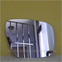 MAZDA CX7 - 4DR WAGON 11/07>CURRENT - DRIVERS - RIGHT SIDE MIRROR - NEW (flat mirror glass only) 133mm high X 193mm widest angle.