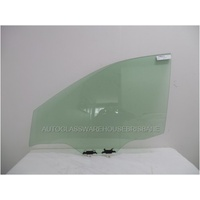 NISSAN X-TRAIL T32 - 3/2014 to CURRENT - 5DR WAGON - LEFT FRONT DOOR GLASS - WITH FITTINGS  - GREEN - NEW