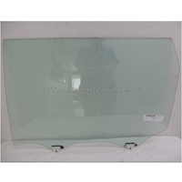NISSAN X-TRAIL T32 - 3/2014 to CURRENT - 5DR WAGON - LEFT REAR DOOR GLASS - WITH FITTINGS  - GREEN - NEW