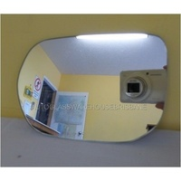 HONDA CIVIC FD  2/2006 to 1/2012 -8th Gen - PASSENGER - LEFT SIDE MIRROR - NEW (flat mirror glass only) 165mm wide X 112mm high