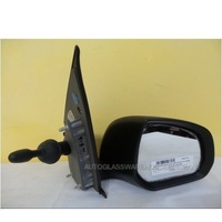 SUZUKI ALTO GF - 5DR HATCH 7/09>CURRENT - RIGHT SIDE COMPLETE MANUAL MIRROR - E11 026446