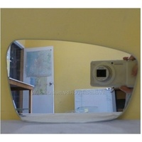 KIA CERATO - 5DR HATCH 5/13>CURRENT - DRIVER - RIGHT SIDE MIRROR - NEW (flat mirror glass only) 180mm X 116mm