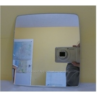 HOLDEN COMBO XC - 2DR VAN 9/02>12/12 - DRIVER - RIGHT SIDE MIRROR - NEW (flat mirror glass only) 165mm high X 153mm wide