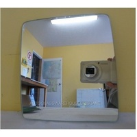 HOLDEN COMBO XC - 2DR VAN 9/02>12/12 - PASSENGER - LEFT SIDE MIRROR - NEW (flat mirror glass only) 165mm high X 153mm wide