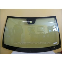 MERCEDES BENZ 204 SERIES C-CLASS - 4/5DR SEDAN/WAGON 6/2007>CURRENT - FRONT WINDSCREEN -NEW (rain sensor, camera holder, moulding)