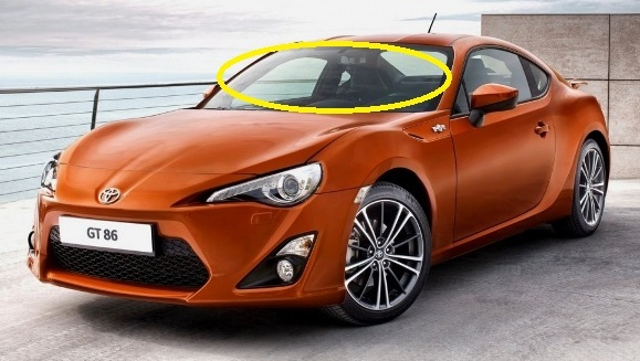 Suitablefortoyota86gts 2drcoupe2012current Frontwindscreen