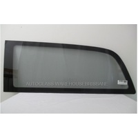 MERCEDES VITO SBV- 5/2004 to 3/2015 - LWB VAN - PASSENGERS - LEFT SIDE REAR FIXED BONDED WINDOW - 1290MM - GREY