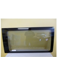VOLKSWAGEN TRANSPORTER T5/T6 - 8/2004 to CURRENT - SWB/LWB VAN - DRIVERS - RIGHT SIDE FRONT FIXED WINDOW GLASS (FIXED PANEL OR SLIDING DOOR)