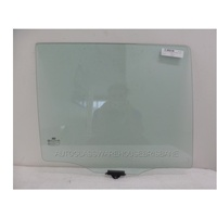 HYUNDAI SANTA FE CM - 5/2006 to 08/2012 - 5DR WAGON - DRIVERS - RIGHT SIDE REAR DOOR GLASS