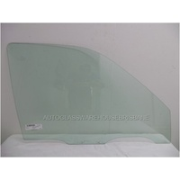 KIA SPORTAGE JA55 - 1/1997 to 4/2000 - 5DR WAGON - DRIVERS - RIGHT SIDE FRONT DOOR GLASS - HOLES 90MM