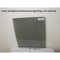 KIA SPORTAGE - 4SR WAGON 12/96>4/05 - RIGHT FRONT DOOR GLASS (HOLES 90mm)