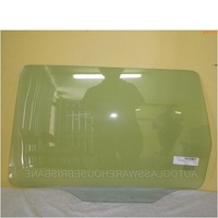 MITSUBISHI OUTLANDER ZE-ZF - 1/2002 To 9/2006 - 5DR WAGON - LEFT SIDE REAR DOOR GLASS