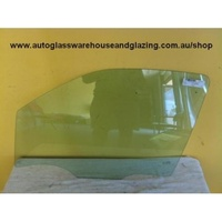 NISSAN NAVARA D40 - 12/2005 to 03/2015 - DUAL CAB - PASSENGERS - LEFT SIDE FRONT DOOR GLASS (SPANISH ONLY)