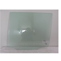 TOYOTA PRADO 120 SERIES - 2/2003 to 10/2009 - 5DR WAGON - PASSENGERS - LEFT SIDE REAR DOOR GLASS