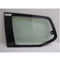 TOYOTA PRADO 120 SERIES - 2/2003 to 10/2009 - 5DR WAGON - PASSENGERS - LEFT SIDE REAR CARGO GLASS - ANTENNA, ONE HOLE