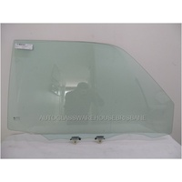 TOYOTA RAV4 10 SERIES - 7/1994 to 4/2000 - 3DR WAGON - DRIVERS - RIGHT SIDE FRONT DOOR GLASS (WITHOUT VENT)