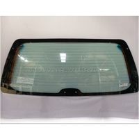 FORD EXPLORER UP/UQ/US Series 2 - 11/1997 to 9/2001 - 4DR SUV - REAR WINDSCREEN WAGON GLASS - GREEN -  6 HOLES - 565mm CENTRE HEIGHT