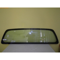 NISSAN NAVARA D40 - 12/2005 to 4/2015 - UTILITY - REAR WINDSCREEN GLASS - HEATED