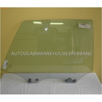 SUBARU LIBERTY 2ND GEN - 6/1994 to 1/1999 - 4DR SEDAN - RIGHT SIDE REAR DOOR GLASS