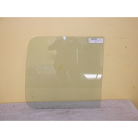 FORD ECONOVAN JG/JH - 5/1984 TO 7/2006 - SWB VAN - DRIVERS - RIGHT SIDE REAR SLIDING GLASS (REAR PIECE)
