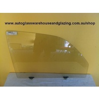 TOYOTA SURF - 1996 TO CURRENT - 4DR SPORT WAGON - DRIVERS - RIGHT SIDE FRONT DOOR GLASS WITHOUT VENT