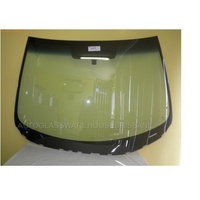 MAZDA 3 BL - 4/2009 to 11/2013 - SEDAN/HATCH - FRONT WINDSCREEN GLASS - MIRROR BUTTON, TOP AND SIDE MOULD