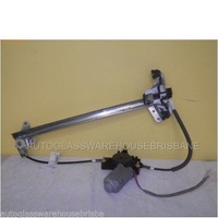 FORD FALCON AU/BA/BF - 9/1998 TO 9/2002 - SEDAN/WAGONE/UTE - LEFT SIDE FRONT WINDOW REGULATOR - ELECTRIC