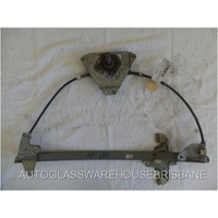 FORD FALCON AU/BA/BF - 9/1998 TO 9/2002 - 4DR SEDAN/2DR UTE - LEFT SIDE FRONT WINDOW REGULATOR - MANUAL