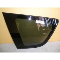 TOYOTA RAV4 30 SERIES - 1/2006 to 2/2013 - 5DR WAGON - LEFT SIDE CARGO GLASS - ENCAPSULATED - PRIVACY TINT