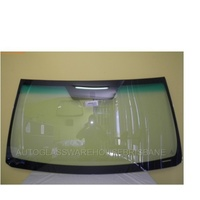 TOYOTA PRADO 150 SERIES - 11/2009 to CURRENT - 3DR/5DR WAGON - FRONT WINDSCREEN GLASS - MIRROR BUTTON, TOP MOULD