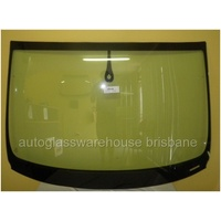 AUDI Q7 4L - 9/2006 to 6/2015 - 5DR WAGON - FRONT WINDSCREEN GLASS - RAIN SENSOR, MIRROR BUTTON, MOULDING