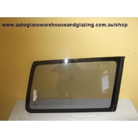 NISSAN TERRANO II R20 - 5DR WAGON 3/97>12/99 - RIGHT SIDE CARGO GLASS