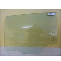 HOLDEN COMMODORE VE/VF - 3/2008 to 10/2017 - 4DR WAGON - PASSENGER - LEFT SIDE REAR DOOR GLASS
