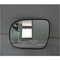 TOYOTA HILUX ZN210 - 3/2005 to 2015 - 2DR UTE (WORKMATE) - LEFT SIDE MIRROR -  A169 SR1300 - NEW FLAT GLASS INSTALLED