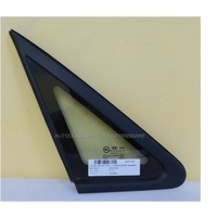 HYUNDAI i30 GD - 5/2012 to 6/2017 - 5DR HATCH - PASSENGERS - LEFT SIDE OPERA GLASS - ENCAPSULATED