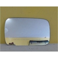 BMW 3 SERIES E46 - 8/1998 to 1/2005 - 4DR SEDAN - PASSENGER - LEFT SIDE MIRROR - FLAT GLASS ONLY - 153MM X 92MM