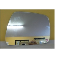 NISSAN NAVARA D40 - 12/2005 to 3/2015 - UTE - THAILAND - DRIVER - RIGHT SIDE MIRROR - FLAT GLASS ONLY (205w X 160h) - SR1350-8685