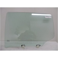 ISUZU D-MAX - 4DR UTE - 6/2012 TO CURRENT - PASSENGERS - LEFT SIDE REAR DOOR GLASS (666M WIDE))