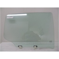 ISUZU D-MAX - 4DR UTE - 6/2012 TO CURRENT - DRIVERS - RIGHT SIDE REAR DOOR GLASS - (666MM WIDE)