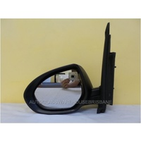 MAZDA 2 DE10Y - 9/2007 to 8/2014 - 5DR HATCH - LEFT SIDE MIRROR - COMPLETE - BLACK - ELECTRIC - NEW
