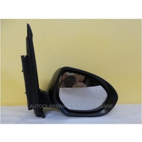 MAZDA 2 DE - 9/2007 to 8/2014 - 3DR/5DR HATCH - RIGHT SIDE MIRROR - COMPLETE - BLACK - ELECTRIC