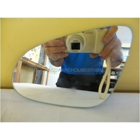 TOYOTA COROLLA ZRE172R/ZRE182R - 12/2013 to CURRENT - SEDAN/HATCH - LEFT SIDE MIRROR - FLAT GLASS ONLY - 160mm X 130mm - G086