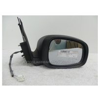 SUZUKI SWIFT RS415 - 1/2005 to 12/2010 - 5DR HATCH  RIGHT SIDE MIRROR-COMPLETE-ELECTRIC-SILVER-E13 011115