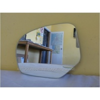 SUZUKI SWIFT AFZ414 - 2/2011 to CURRENT - 5DR HATCH - LEFT SIDE MIRROR - FLAT GLASS ONLY - 166mm WIDE X 126mm HIGH