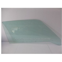 FORD CAPRI MK1 -1969 TO 1973 - 2DR COUPE - DRIVERS - RIGHT SIDE FRONT DOOR GLASS - GREEN