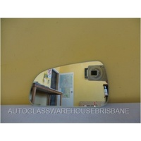 HYUNDAI SONATA NF - 6/2005 to 4/2010 - 4DR SEDAN - PASSENGERS - LEFT SIDE MIRROR - FLAT GLASS ONLY - 191MM X 97MM