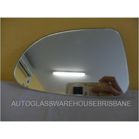 HONDA S2000 AP - 8/1999 to 7/2009 - 2DR CONVERTIBLE - PASSENGERS - LEFT SIDE MIRROR - FLAT GLASS ONLY - 161MM X 100MM